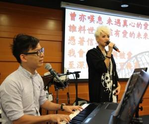 中國基督教播道會泉福堂——「真愛不老」福音音樂劇記者招待會(二)