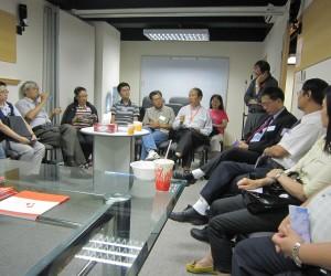 2011年8月17日教牧午餐分享會