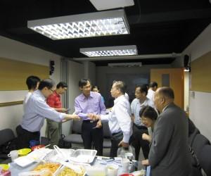 2011年7月13日教牧午餐分享會